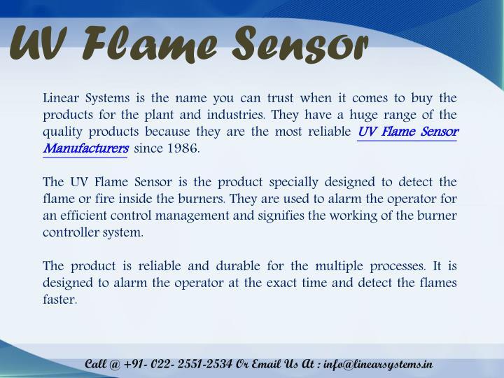 UV Flame Sensor