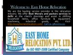 welcome to easy home relocation