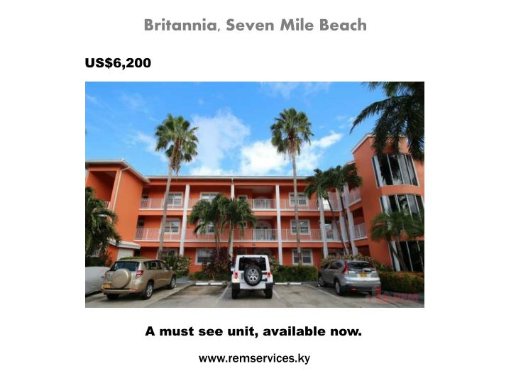 Britannia, Seven Mile Beach