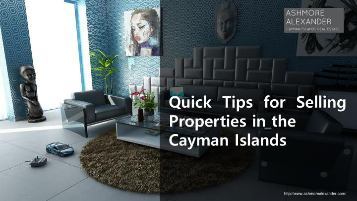 Quick Tips for Selling Properties in the