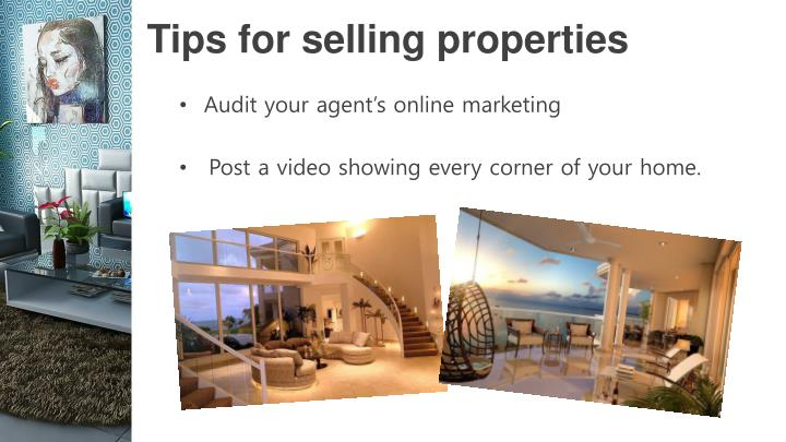 Tips for selling properties