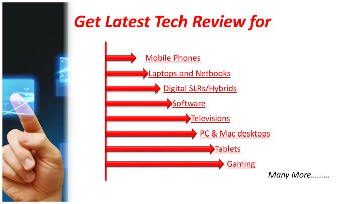 Get Latest Tech Review for