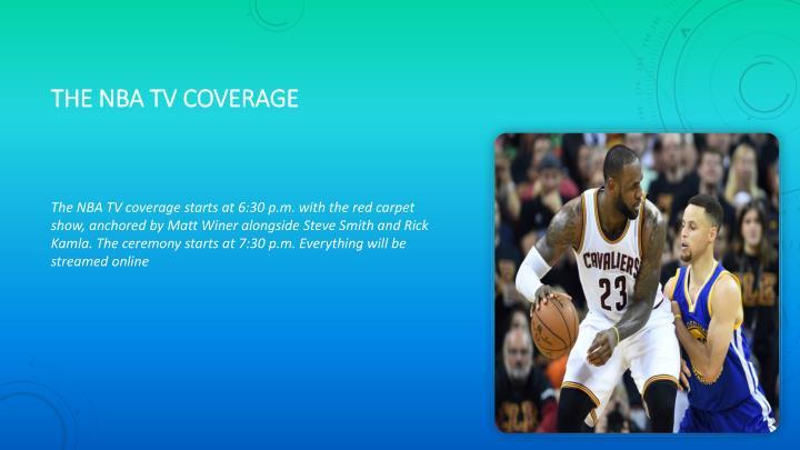 The nba tv coverage