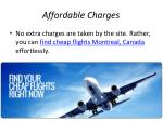 affordable c harges