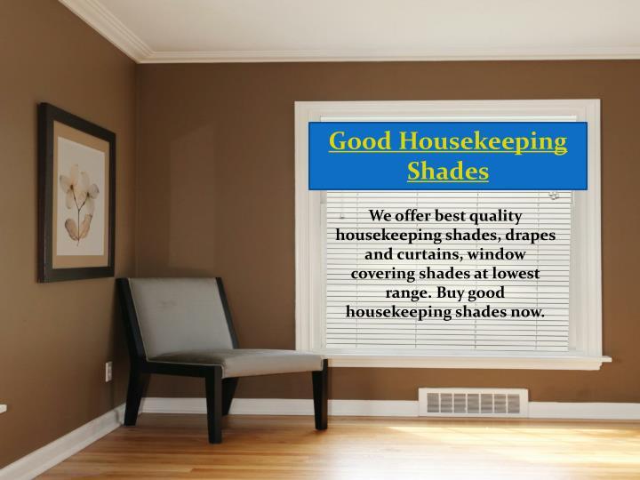 Good Housekeeping Shades