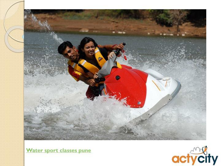 Water sport classes