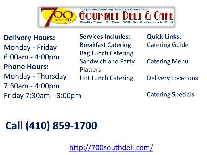 Services Includes: