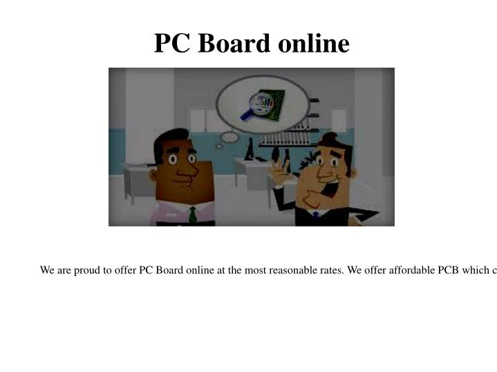 PC Board online