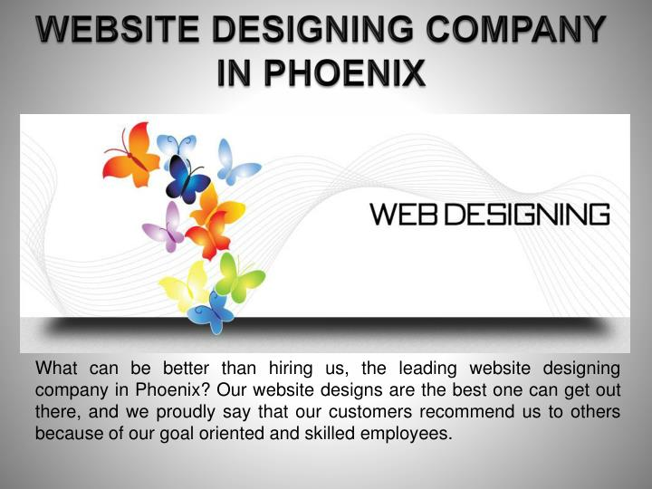 WEBSITE DESIGNING COMPANY IN PHOENIX