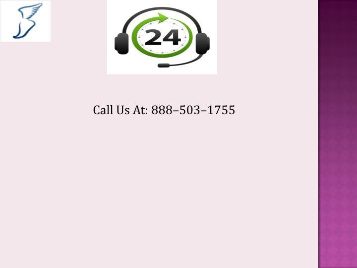 Call Us At: 888