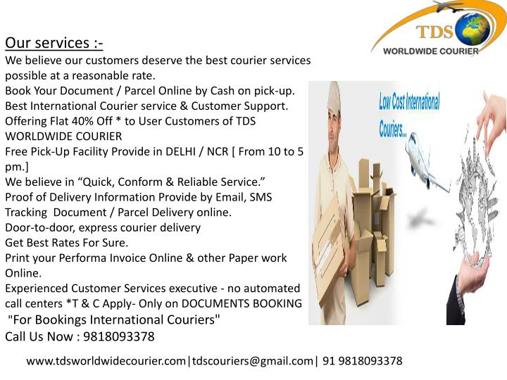 Our services :-