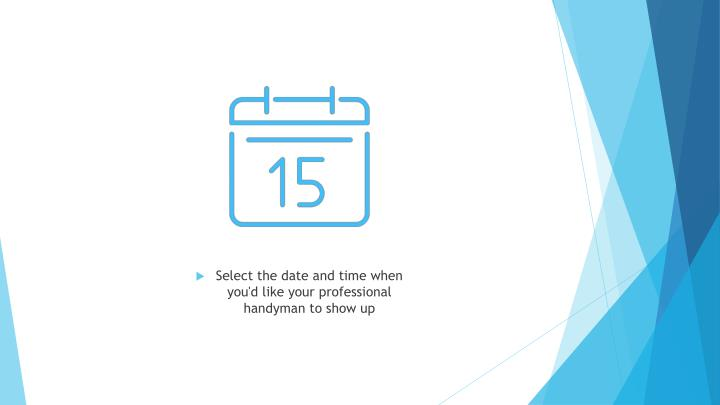 Select the date and time when you'd like