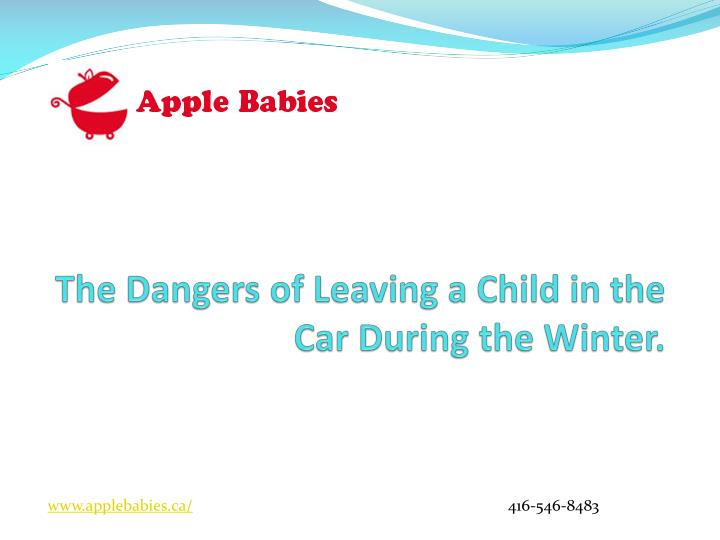 the dangers of leaving a child in the car during the winter n.