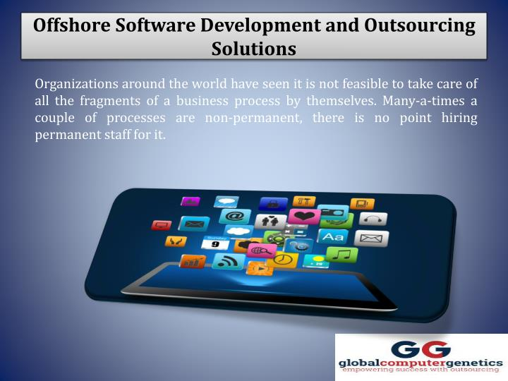 offshore software development and outsourcing solutions n.