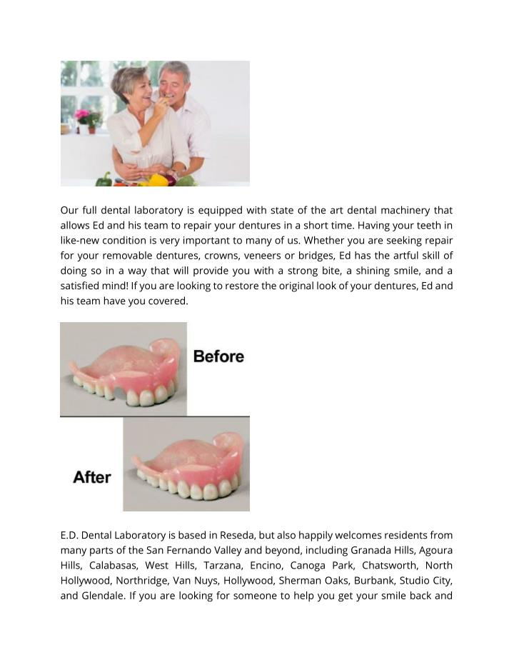 Our full dental laboratory is equipped with state of the art dental machinery that