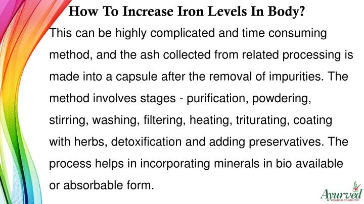 How To Increase Iron Levels In Body?