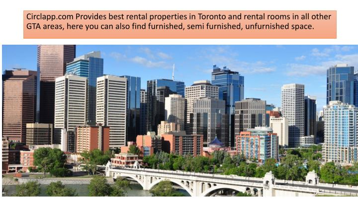 Circlapp.com Provides best rental properties in Toronto and rental rooms in all other