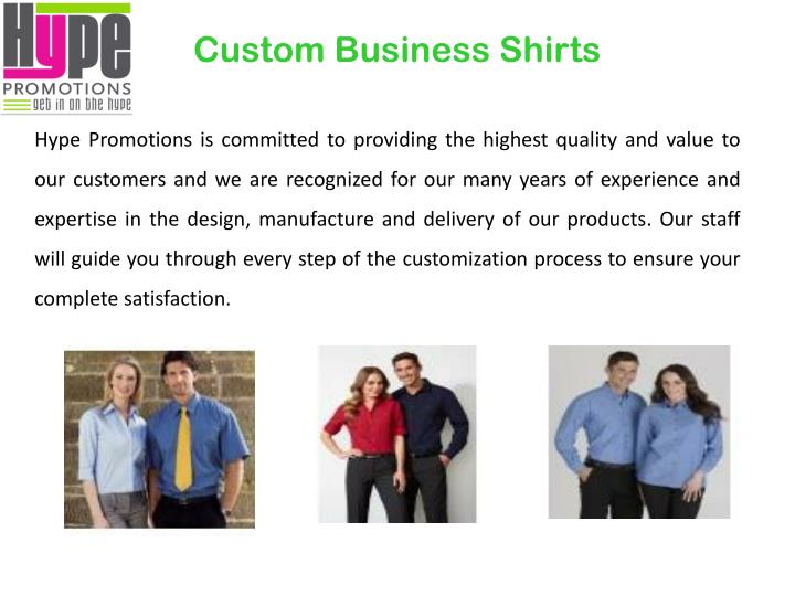Custom Business Shirts