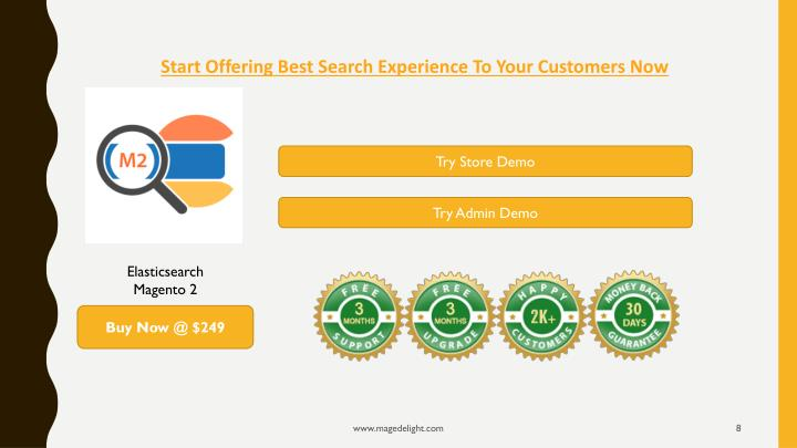 Start Offering Best Search Experience To Your Customers Now