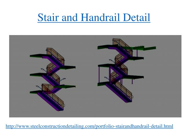Stair and Handrail Detail