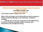 bcom 231 rank future starts here bcom231rank com6