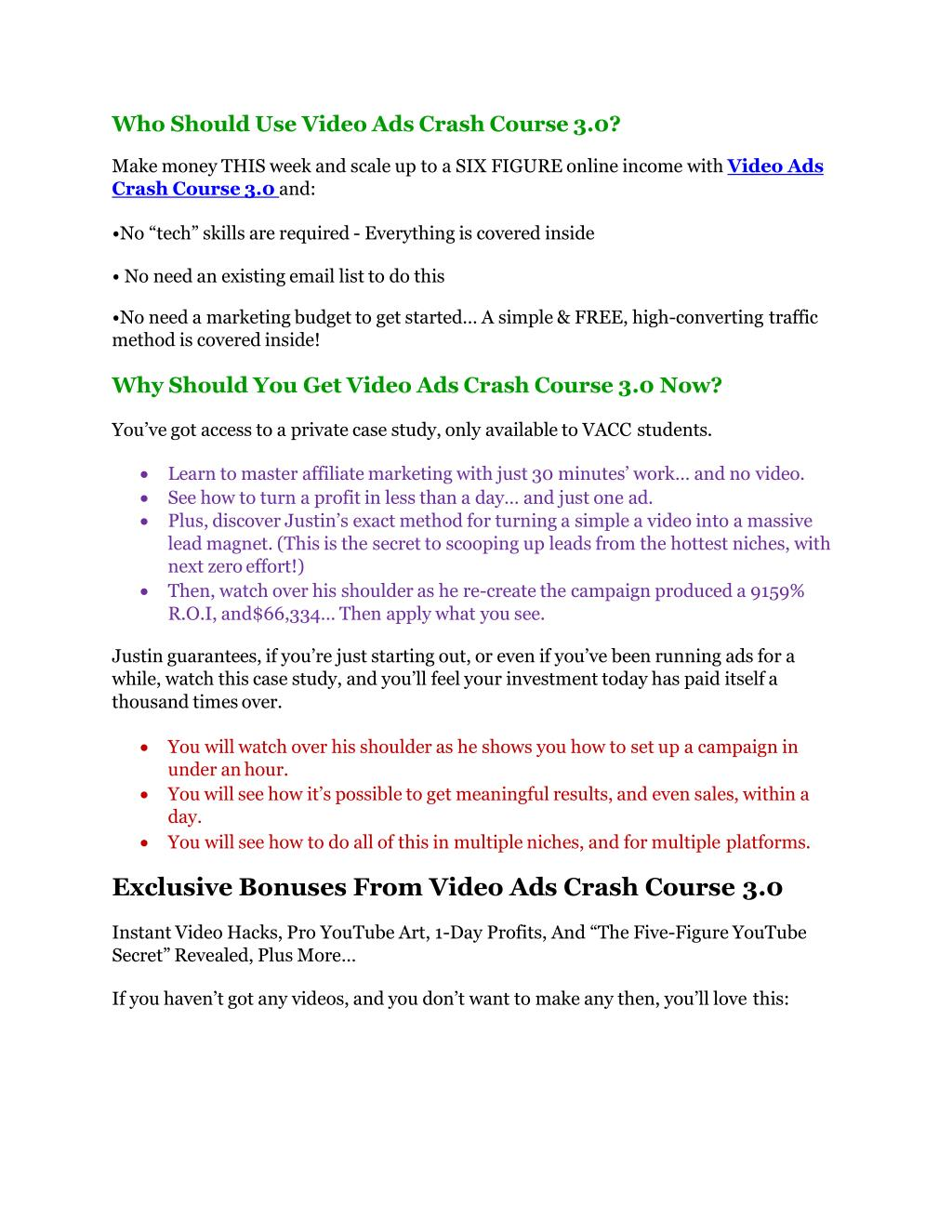 PPT - Video Ads Crash Course 3 Review-TRUST about Video Ads