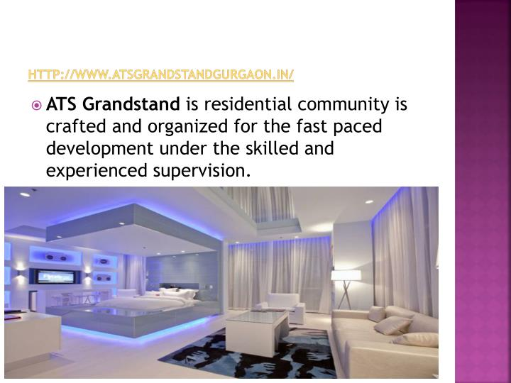 Http www atsgrandstandgurgaon in