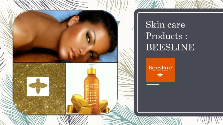 skin care products beesline