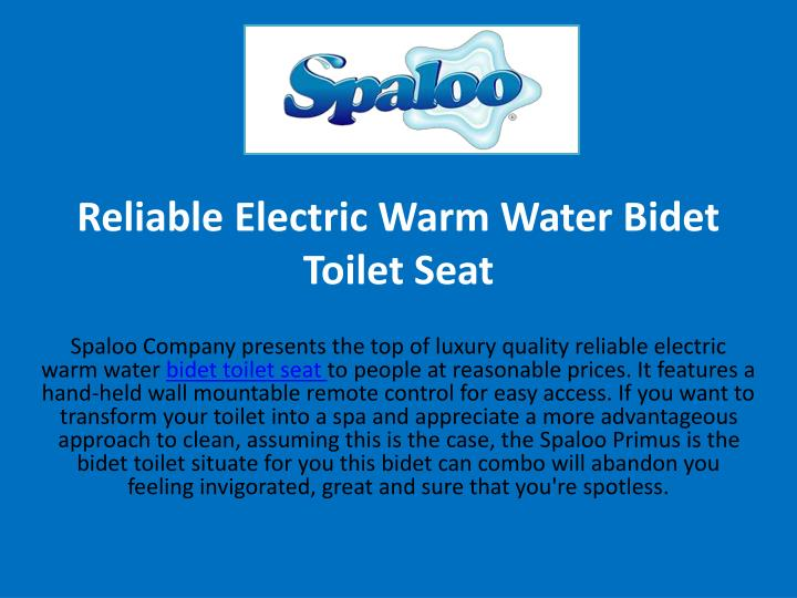 reliable electric warm water bidet toilet seat n.