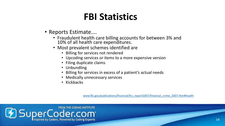 FBI Statistics
