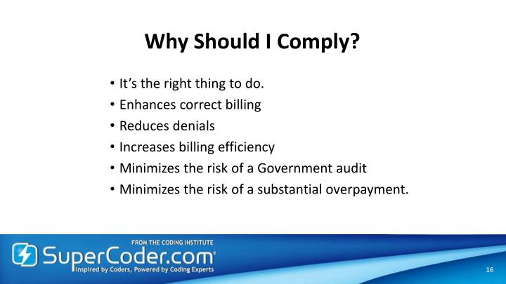 Why Should I Comply?