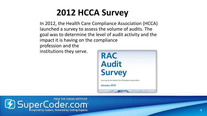 2012 HCCA Survey