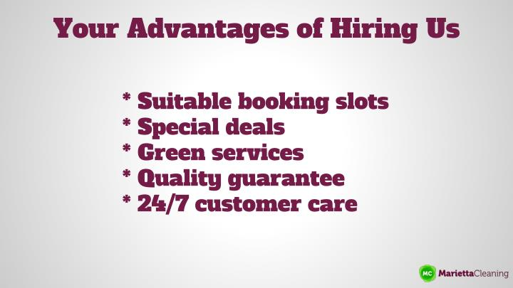 Your Advantages of Hiring Us