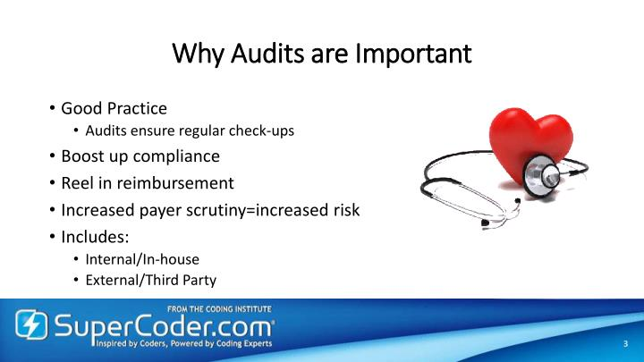 Why Audits are Important