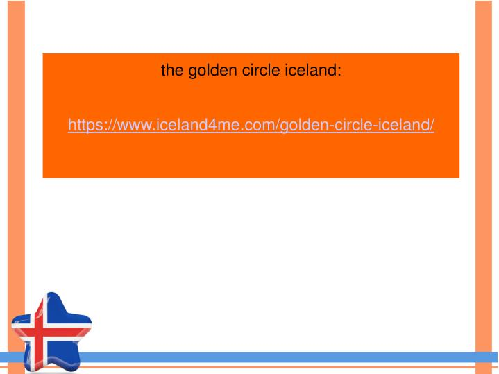the golden circle iceland: