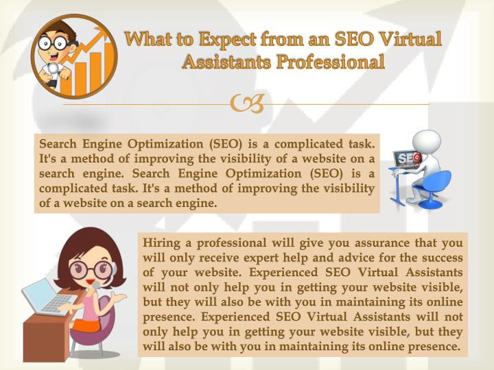 What to expect from an seo virtual assistants professional