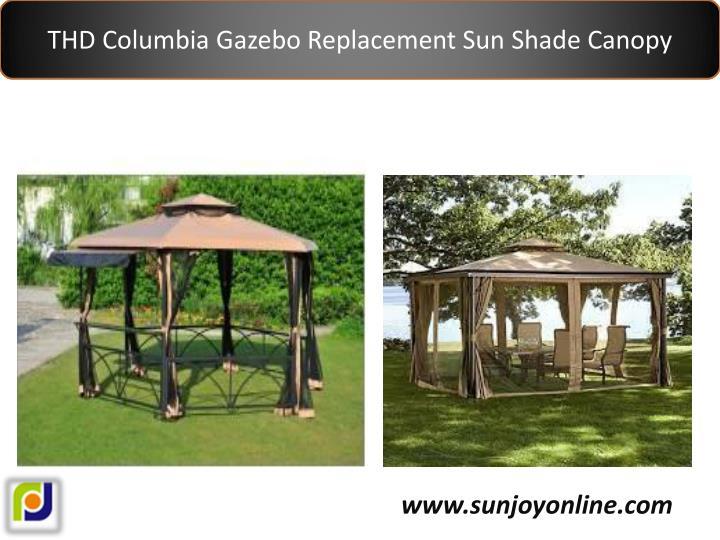 THD Columbia Gazebo Replacement Sun Shade Canopy