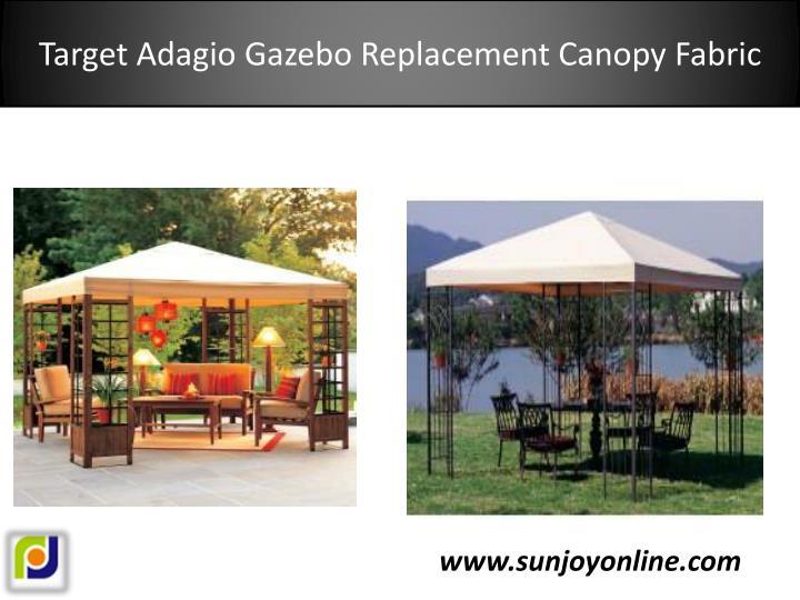 Target Adagio Gazebo Replacement Canopy Fabric