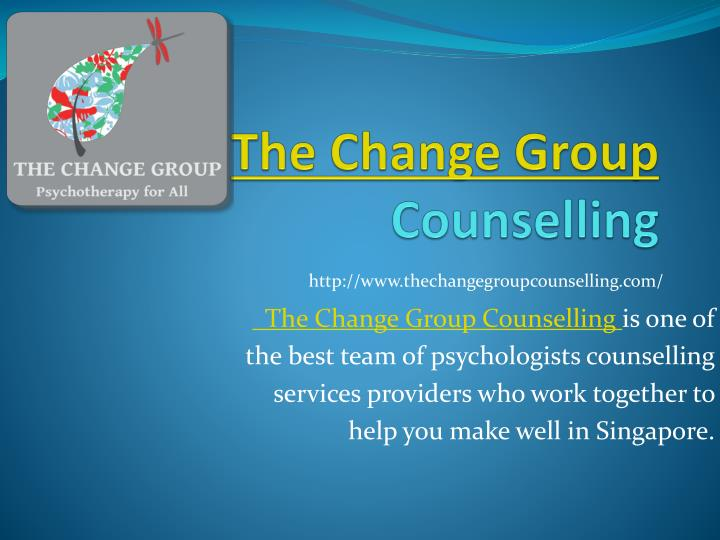 the change group counselling n.