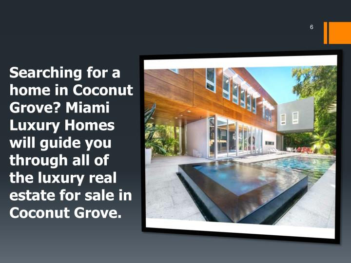 Searching for a home in Coconut