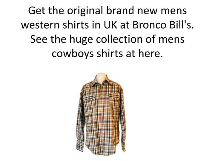 Get the original brand new