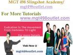 mgt 498 slingshot academy mgt498outlet com14
