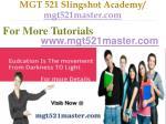 mgt 521 slingshot academy mgt521master com24