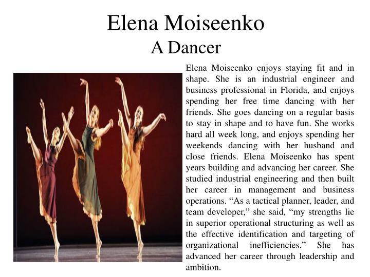 Elena Moiseenko
