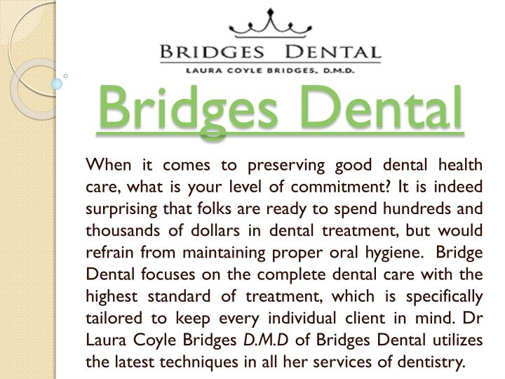 bridges dental n.