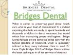 bridges dental