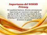 importanza del whois privacy1