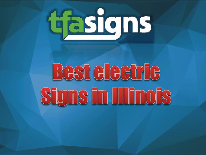 Best electric Signs in