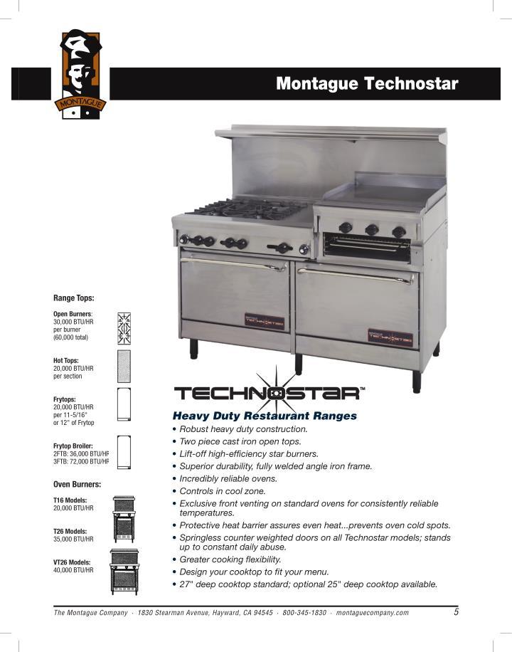 Montague Technostar