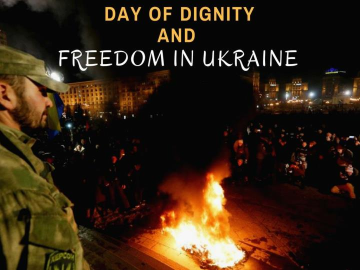 day of dignity and freedom in ukraine n.